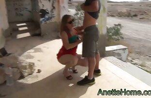 مرد در الاغ دانلود کلیپ سکس خارجی کم حجم توسط یک خانم بلوند
